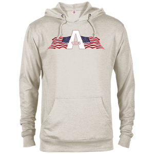 CustomCat Men's Hoodie Oatmeal Heather / XS American Patriots Apparel Logo Delta French Terry Hoodie (11 Variants)