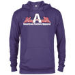 Load image into Gallery viewer, CustomCat Men's Hoodie Purple Heather / X-Small American Patriots Apparel Logo With Text Delta French Terry Hoodie (11 Variants)