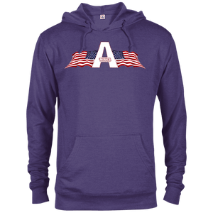 CustomCat Men's Hoodie Purple Heather / XS American Patriots Apparel Logo Delta French Terry Hoodie (11 Variants)
