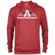 Load image into Gallery viewer, CustomCat Men's Hoodie Red Heather / X-Small American Patriots Apparel Logo With Text Delta French Terry Hoodie (11 Variants)