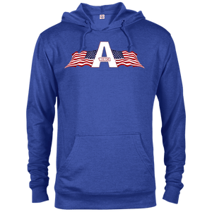 CustomCat Men's Hoodie Royal Heather / XS American Patriots Apparel Logo Delta French Terry Hoodie (11 Variants)