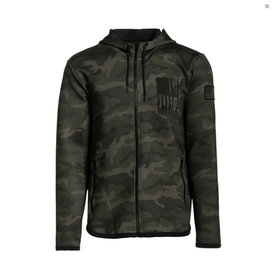 Howitzer Clothing Men's Hoodie Siege Zip Hood