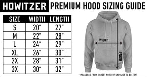 Howitzer Clothing Men's Hoodie Stand Po Hood