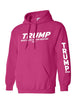 Load image into Gallery viewer, American Patriots Apparel Men's Hoodie Trump Make America Even Greater 2020 Pullover Hoodie With Trump On Left Sleeve (2 Variants)