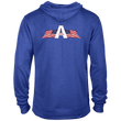 Load image into Gallery viewer, CustomCat Men's Hoodie USA Statue of Liberty Delta French Terry Hoodie (11 Variants)