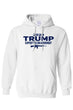 Load image into Gallery viewer, American Patriots Apparel Men's Hoodie White / SMALL / FRONT 2020 Trump Support the 2nd Amendment Pullover Hoodie (3 Variants)