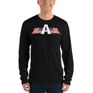 American Patriots Apparel Men's Long Sleeve Shirt Black / S American Patriots Apparel Logo Long Sleeve T-Shirt (4 Variants)