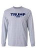 Load image into Gallery viewer, American Patriots Apparel Men's Long Sleeve Shirt Grey / 5XL / FRONT Trump 2020 Long-Sleeve Shirt (2 Variants)