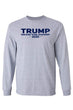 Load image into Gallery viewer, American Patriots Apparel Men's Long Sleeve Shirt Grey / XLARGE / FRONT Trump Drain the Swamp 2020 Long Sleeve Shirt (2 Variants)