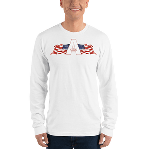 American Patriots Apparel Men's Long Sleeve Shirt White / S American Patriots Apparel Logo Long Sleeve T-Shirt (4 Variants)
