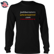 Load image into Gallery viewer, Print Brains Men's Long Sleeve T-Shirt Black / S / Port & Co US Made Cotton Long Sleeve Crew Josh Bernstein Banned & Uncensored V1 Long-Sleeve T-Shirt (8 Variants)