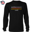 Load image into Gallery viewer, Print Brains Men's Long Sleeve T-Shirt Black / S / Port & Co US Made Cotton Long Sleeve Crew Josh Bernstein Uncensored - If It's Banned You'll Find It Here Long-Sleeve T-Shirt (4 Variants)