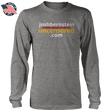 Load image into Gallery viewer, Print Brains Men's Long Sleeve T-Shirt Heather Gray / S / Port & Co US Made Cotton Long Sleeve Crew Josh Bernstein Uncensored - If It's Banned You'll Find It Here Long-Sleeve T-Shirt (4 Variants)