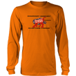 Load image into Gallery viewer, Print Brains Men's Long Sleeve T-Shirt Port & Co US Made Cotton Long Sleeve Crew / Neon Orange / S Rampant Donkey Election Fraud 2020 Long-Sleeve (8 Variants)