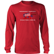 Load image into Gallery viewer, Print Brains Men's Long Sleeve T-Shirt Port & Co US Made Cotton Long Sleeve Crew / Red / S Rampant Donkey Election Fraud 2020 Long-Sleeve (8 Variants)