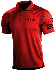 Relentless Defender Men's Polo Shirts Cardinal Red / S Tactical Defender Polo (9 Variants)