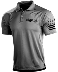 Relentless Defender Men's Polo Shirts Grey / S Tactical Defender Polo (9 Variants)