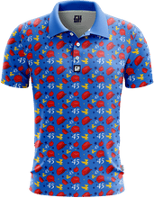 Load image into Gallery viewer, Print Brains Men's Polo Shirts Keep America Great Golf Polo