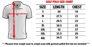 Greater Half Men's Polo Shirts Keep America Great Golf Polo