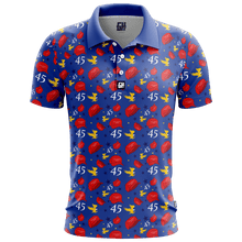 Load image into Gallery viewer, Print Brains Men's Polo Shirts Keep America Great Golf Polo / Navy / S Keep America Great Golf Polo