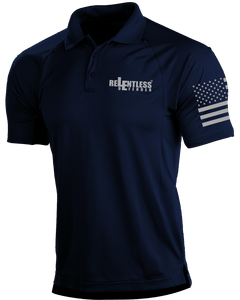 Relentless Defender Men's Polo Shirts Navy / S Tactical Defender Polo (9 Variants)