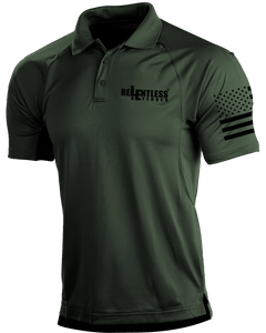 Relentless Defender Men's Polo Shirts OD Green / S Tactical Defender Polo (9 Variants)