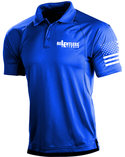 Relentless Defender Men's Polo Shirts Royal Blue / S Tactical Defender Polo (9 Variants)