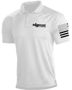 Relentless Defender Men's Polo Shirts White / S Tactical Defender Polo (9 Variants)