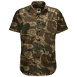 Load image into Gallery viewer, Greater Half Men's Short-Sleeve Dress Shirt S / Brushstroke Brushstroke Camo Button Down