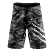 Load image into Gallery viewer, Tactical Pro Supply Men's Shorts Black Camo / 30 Black Camo White Crest | Board Shorts