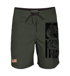 Howitzer Clothing Men's Shorts Charcoal / 30 Rebellion Boardshort