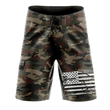 Load image into Gallery viewer, Tactical Pro Supply Men's Shorts Desert Camo / 30 Desert Camo | Board Shorts
