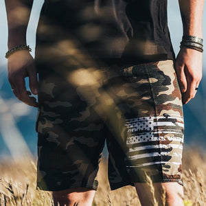 Tactical Pro Supply Men's Shorts Desert Camo | Board Shorts