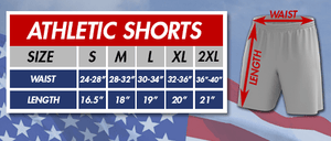 Print Brains Men's Shorts Flags And Stars Shorts