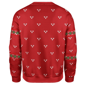 Greater Half Men's Sweater They Ain't Gonna Hang Themselves Christmas Sweater