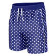 Load image into Gallery viewer, Print Brains Men's Swimsuit Stars Swim Trunks / Blue / S Stars Swim Trunks