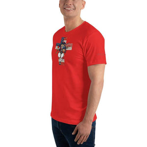 American Patriots Apparel Men's T-Shirt American Patriots for God and Country Cross Logo 'Merica Tee (14 Variants)