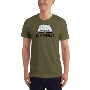 American Patriots Apparel Men's T-Shirt Army / S KJV ONLY Psalm 12:6-7 T-Shirt (16 Variants)