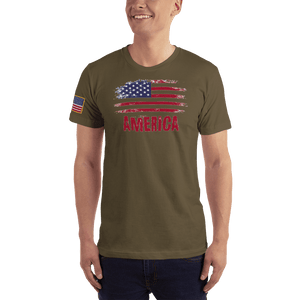 American Patriots Apparel Men's T-Shirt Army / XS AMERICA T-Shirt (13 Variants)
