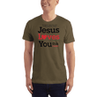 Load image into Gallery viewer, American Patriots Apparel Men's T-Shirt Army / XS Jesus Loves You This I Know T-Shirt (13 Variants)