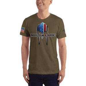 American Patriots Apparel Men's T-Shirt Army / XS Molon Labe Spartan Helmet T-Shirt (13 Variants)