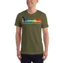 Load image into Gallery viewer, American Patriots Apparel Men's T-Shirt Army / XS The Rainbow Belongs To God Genesis 9:13 Noah's Ark Tee (13 Variants)