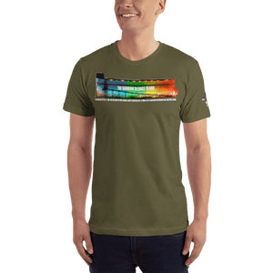 American Patriots Apparel Men's T-Shirt Army / XS The Rainbow Belongs To God Genesis 9:13 Noah's Ark Tee (13 Variants)