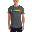 Load image into Gallery viewer, American Patriots Apparel Men's T-Shirt Asphalt / XS The Rainbow Belongs To God Genesis 9:13 Noah's Ark Tee (13 Variants)