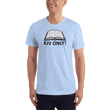 Load image into Gallery viewer, American Patriots Apparel Men's T-Shirt Baby Blue / S KJV ONLY Psalm 12:6-7 T-Shirt (16 Variants)