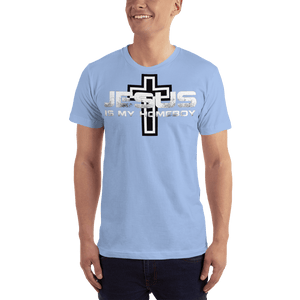 American Patriots Apparel Men's T-Shirt Baby Blue / XS Jesus Is My Homeboy Black Cross T-Shirt (13 Variants)