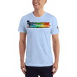 Load image into Gallery viewer, American Patriots Apparel Men's T-Shirt Baby Blue / XS The Rainbow Belongs To God Genesis 9:13 Noah's Ark Tee (13 Variants)