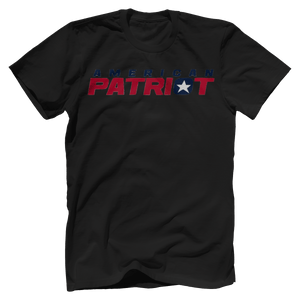 Print Brains Men's T-Shirt Bella + Canvas US Made Cotton Crew / Black / XS American Patriot V1 T-Shirt (6 Variants)