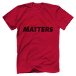 Load image into Gallery viewer, Print Brains Men's T-Shirt Bella + Canvas US Made Cotton Crew / Red / XS Truth Matters Red & Black Text T-Shirt (6 Variants)