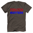 Load image into Gallery viewer, Print Brains Men's T-Shirt Bella + Canvas US Made Cotton Crew / Warm Gray / XS Truth Matters Red & Blue Text T-Shirt (6 Variants)